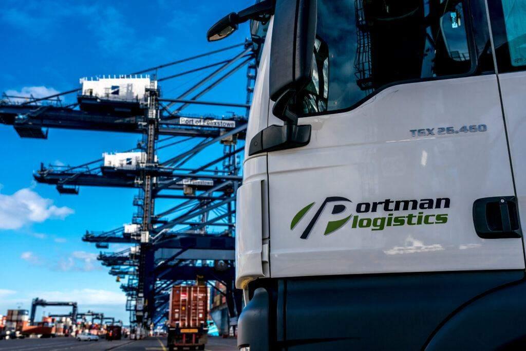 Haulier Container | Portman Logistics
