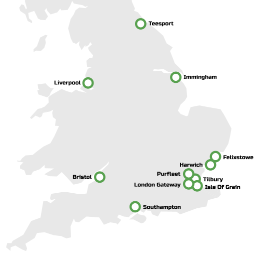 Container Haulage, Serving Ports across the UK – Portman Logistics