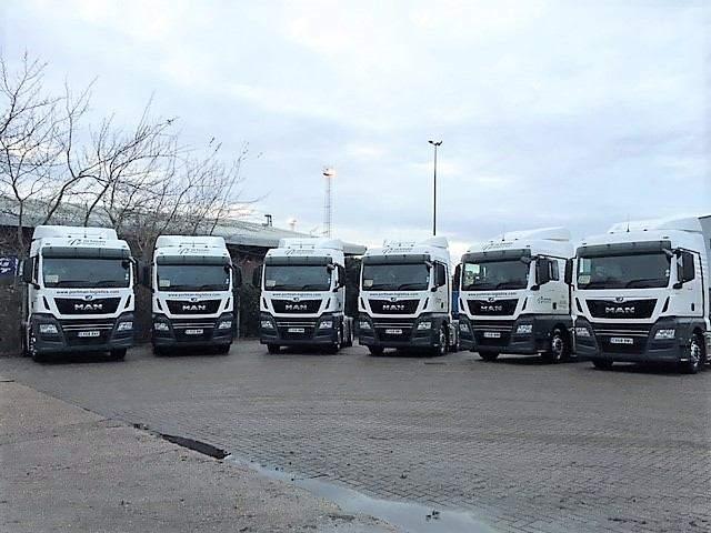 New MAN trucks purchased by Portman Logistics