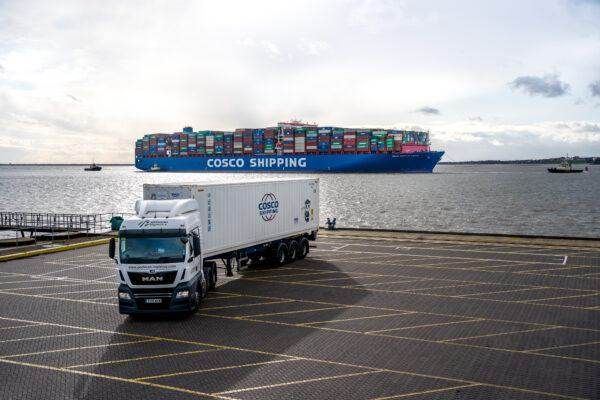 Cosco Container Shipping Port of Felixstowe