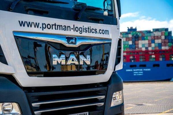Portman Logistics MAN Tractor Unit