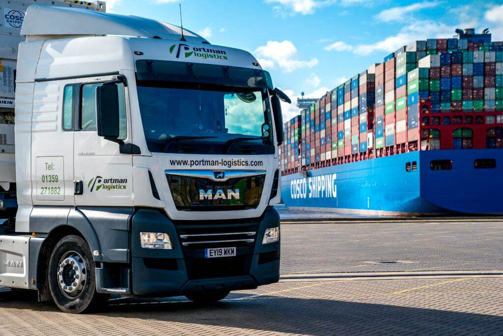 Shipping Container Transport | Portman Logistics