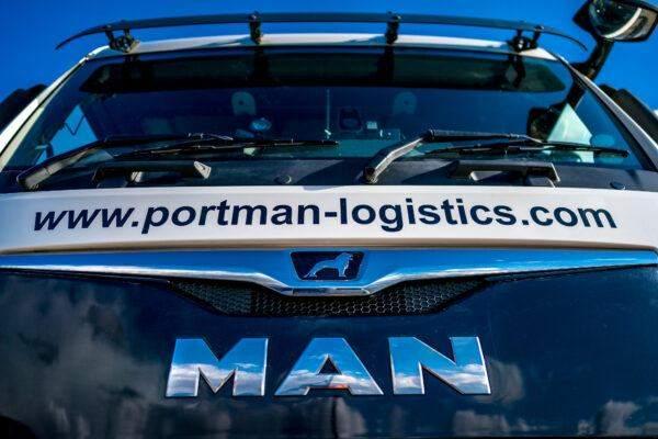 Container Haulage | Portman Logistics