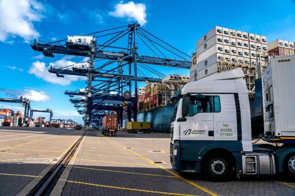 Felixstowe Port Logistics