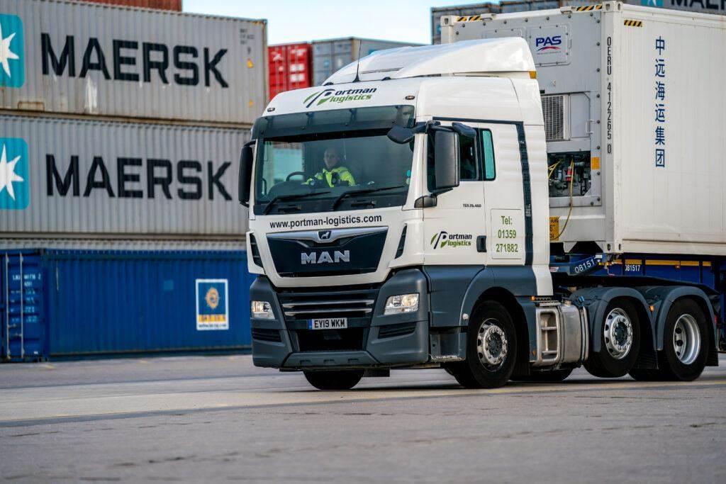Portman Logistics MAN Tractor Unit
