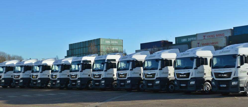 Portman Logistics Southampton - Fleet of Vehicles